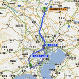 古河駅−湘南台駅間地図